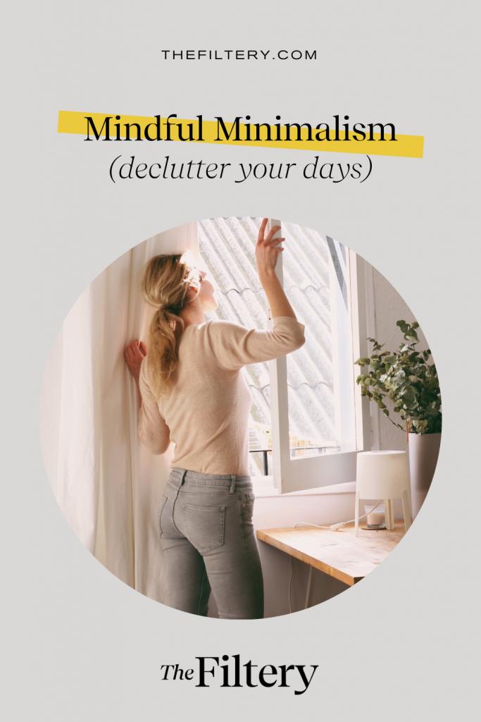 mindful minimalism mental health