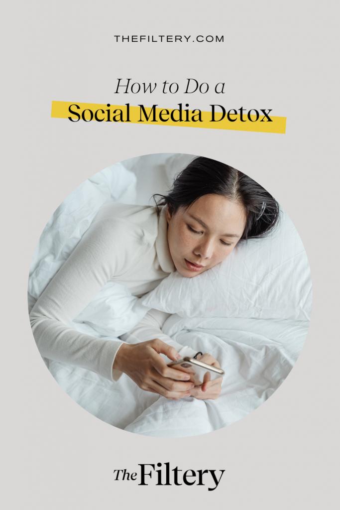how to do a social media detox