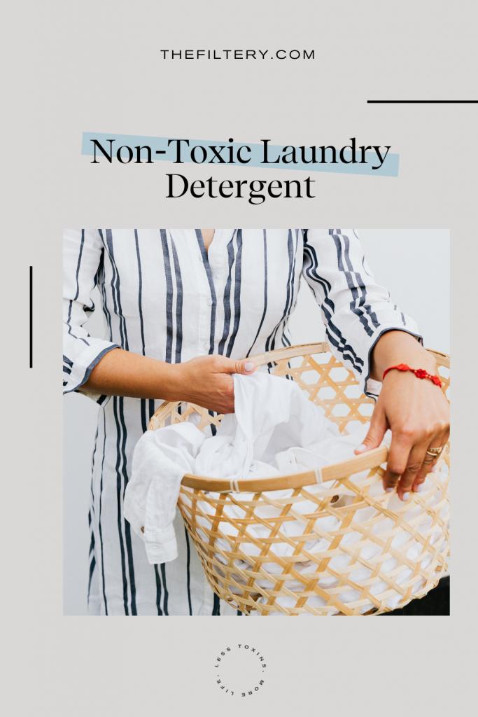 best non toxic laundry detergent