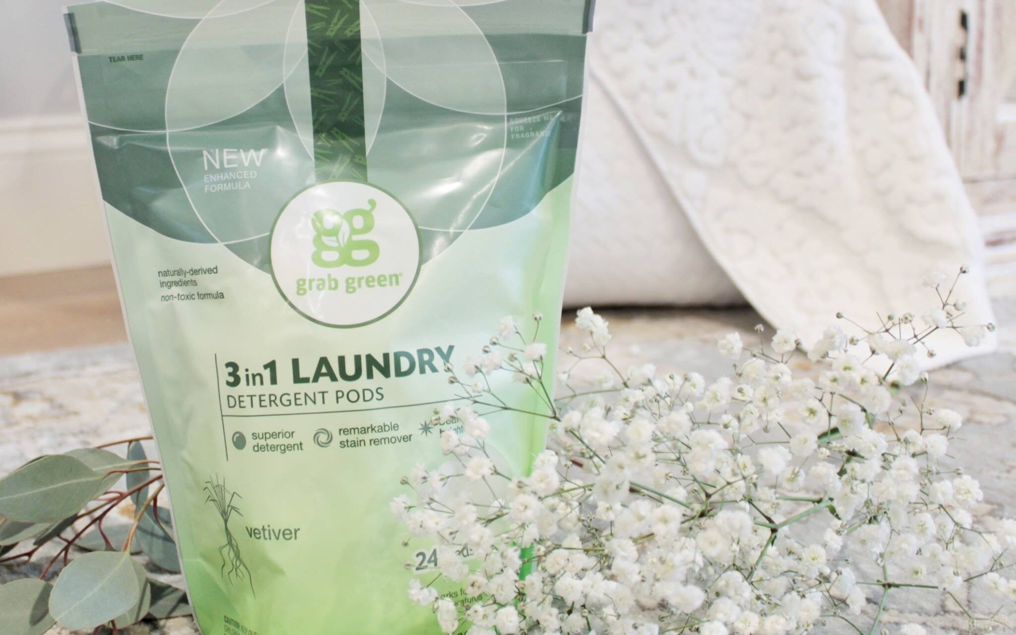 best non toxic laundry detergent grab green