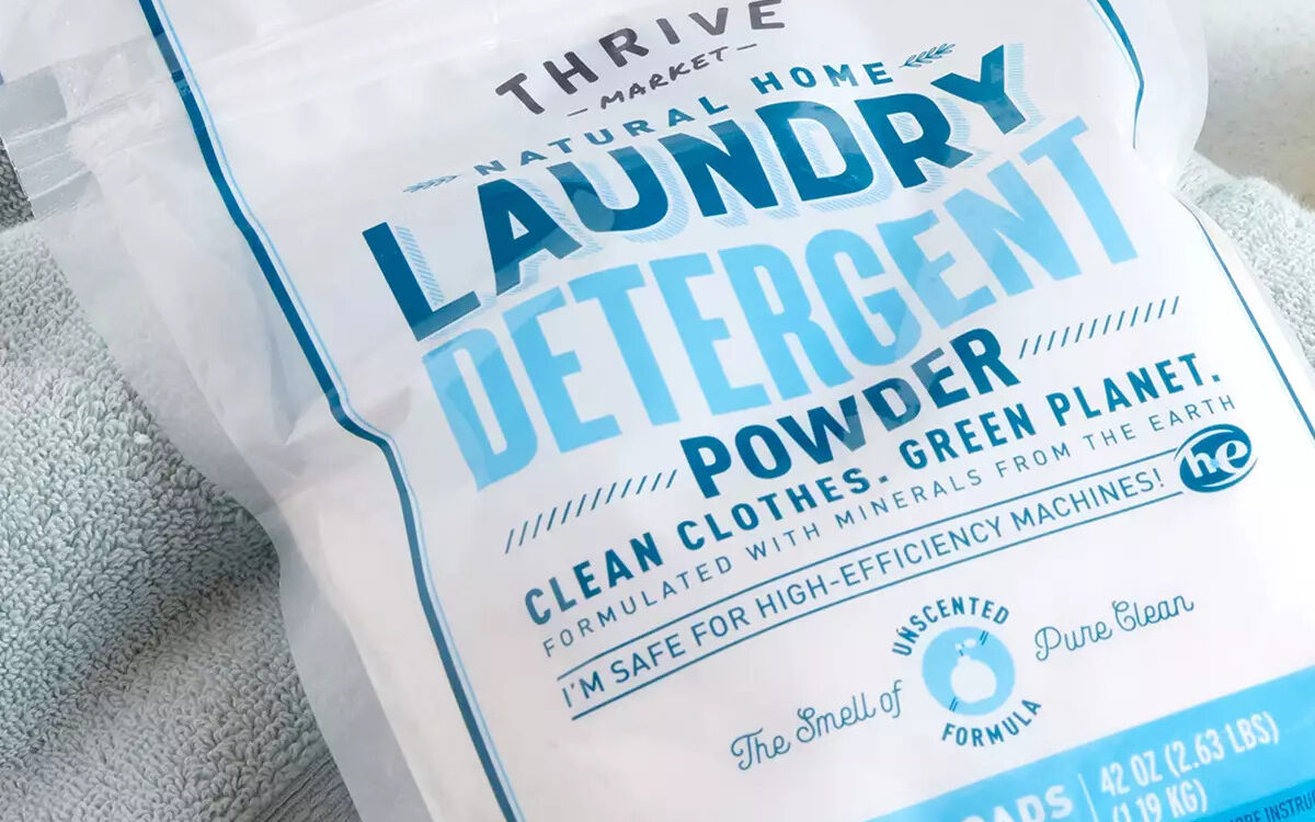 best non toxic laundry detergent thrive market