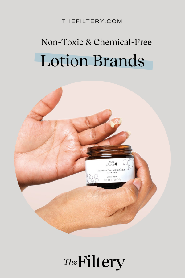 non toxic and chemical fress lotion brands